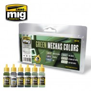 GREEN MECHAS COLORS