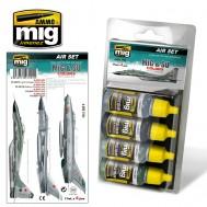 MiG & SU COLORS  Grey & Green Fighters