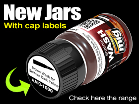 New Jars with cap stickers