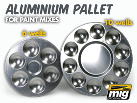AMMO ALUMINIUM PALLET FOR PAINT MIXES